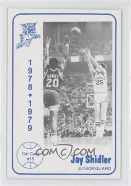 1978-79 Foodtown University of Kentucky Wildcats #15 - Jay Shidler
