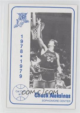 1978-79 Foodtown University of Kentucky Wildcats #17 - Chuck Aleksinas