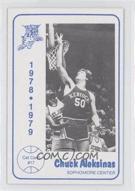 1978-79 Foodtown University of Kentucky Wildcats #17 - Chuck Aleksinas
