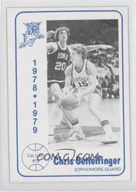 1978-79 Foodtown University of Kentucky Wildcats #18 - Chris Gettelfinger