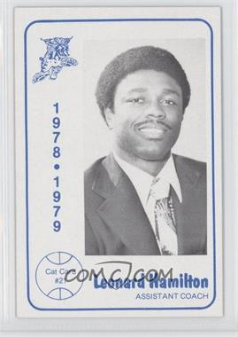 1978-79 Foodtown University of Kentucky Wildcats #21 - Leonard Hamilton
