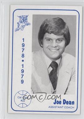 1978-79 Foodtown University of Kentucky Wildcats #22 - Joe Dean