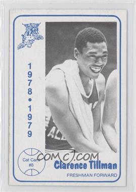 1978-79 Foodtown University of Kentucky Wildcats #8 - Clarence Tillman