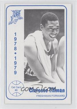 1978-79 Foodtown University of Kentucky Wildcats #8 - Clarence Tillman
