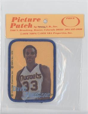 1978-79 Picture Patch - [Base] #N/A - David Thompson