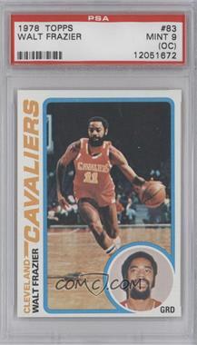 1978-79 Topps - [Base] #83 - Walt Frazier [PSA9(OC)]
