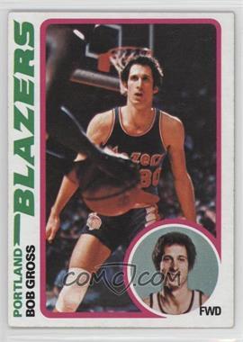 1978-79 Topps - [Base] #98 - Bob Gross