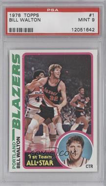 1978-79 Topps #1 - Bill Walton [PSA9]