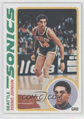 1978-79 Topps #78 - Dennis Johnson