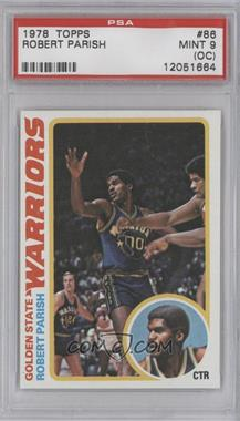 1978-79 Topps #86 - Robert Parish [PSA 9 (OC)]