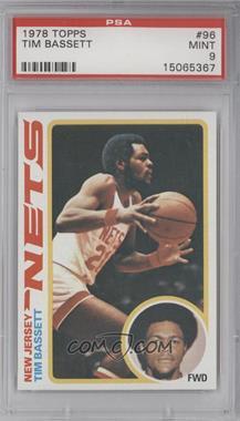 1978-79 Topps #96 - Tim Bassett [PSA9]