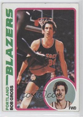 1978-79 Topps #98 - Bob Gross [Good to VG‑EX]