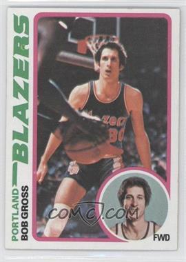 1978-79 Topps #98 - Bob Gross
