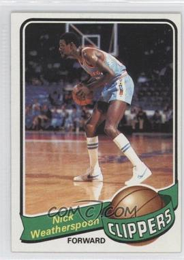 1979-80 Topps - [Base] #61 - Nick Weatherspoon