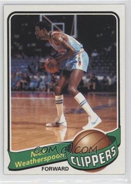 1979-80 Topps #61 - Nick Weatherspoon