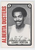 Lenny Horton