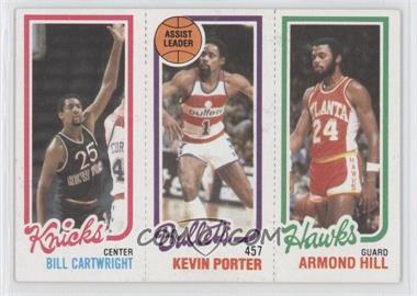 1980-81 Topps - [Base] #BCKPAH - Bill Cartwright, Kevin Porter, Armond Hill
