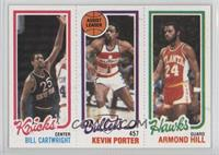 Bill Cartwright, Kevin Porter, Armond Hill [Good to VG‑EX]