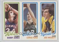 Bobby Jones, Chris Ford, Joe Hassett