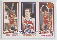 Campy Russell, Kevin Grevey, Dave Robisch
