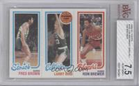 Fred Brown, Larry Bird, Ron Brewer [BVG 7.5]