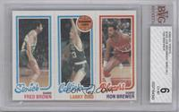 Fred Brown, Larry Bird, Ron Brewer [BVG 6]