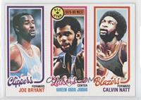 Joe Bryant, Checklist/All-Star (Kareem Abdul-Jabbar), Calvin Natt