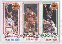 Kareem Abdul-Jabbar, Mike Mitchell, Terry Tyler