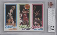 Larry Bird, Julius Erving, Magic Johnson [BVG 7.5]