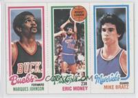 Marques Johnson, Eric Money, Mike Bratz
