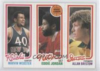 Marvin Webster, Eddie Jordan, Allan Bristow