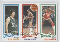 Rick Robey, Adrian Dantley, Eddie Johnson