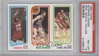 Robert Reid, Mike Newlin, Lionel Hollins [PSA 8]