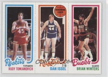 1980-81 Topps - [Base] #RTDIBW - Rudy Tomjanovich, Dan Issel, Brian Winters