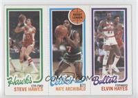 Steve Hawes, Elvin Hayes, Nate Archibald
