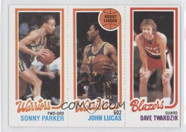 1980-81 Topps - [Base] #SPJLDT - Sonny Parker, John Lucas, Dave Twardzik