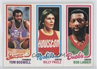 Tom Boswell, Billy Paultz, Bob Lanier