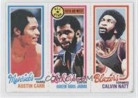 Austin Carr, Kareem Abdul-Jabbar, Calvin Natt