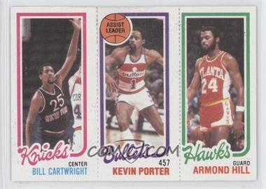 1980-81 Topps #BCKPAH - Bill Cartwright, Kevin Porter, Armond Hill