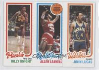 Billy Knight, Allen Leavell, John Lucas