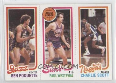1980-81 Topps #BPPWCS - Ben Poquette, Charlie Scott, Paul Westphal