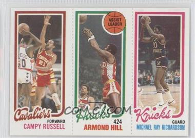 1980-81 Topps #CRAHMR - Campy Russell, Armond Hill, Mike Ratliff