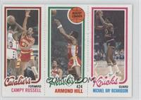 Campy Russell, Armond Hill, Mike Ratliff