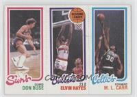 Don Buse, Elvin Hayes, M.L. Carr [Good to VG‑EX]