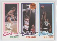 Don Buse, Elvin Hayes, M.L. Carr