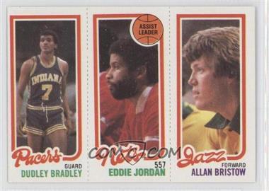1980-81 Topps #DBEJAB - Dudley Bradley, Allan Bristow