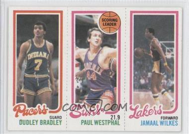 1980-81 Topps #DBPWJW - Dudley Bradley, Paul Westphal, Jamaal Wilkes