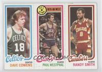 Dave Cowens, Paul Westphal, Randy Smith [Good to VG‑EX]
