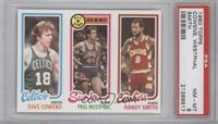Dave Cowens, Paul Westphal, Randy Smith [PSA 8]