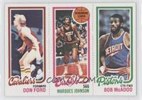 Bob McAdoo, Don Ford, Marques Johnson